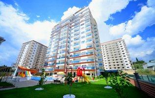 Трёхкомнатная квартира в современном комплексе Махмутлара, Алания.