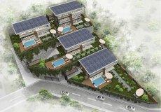 Новый проект комплекса вилл в Бекташ, Алания - 2