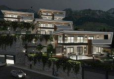 Новый проект комплекса вилл в Бекташ, Алания - 3