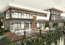 Новый проект комплекса вилл в Бекташ, Алания - 6
