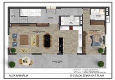 Новый проект комплекса вилл в Бекташ, Алания - 11