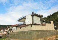 Элитная четырёхэтажная вилла с панорамным видом в центре Алании - 3