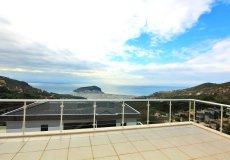 Элитная четырёхэтажная вилла с панорамным видом в центре Алании - 1