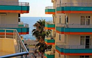 Квартира с видом на море в Махмутларе, Алания