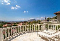 Вилла а Алании с потрясающим видом на море, горы и аланийскую крепость - 15