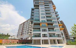 Недорогие квартира в Аланье р.Махмутлар в новом комплексе