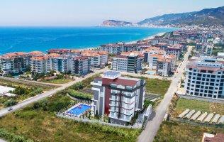 Новый инвестиционный проект в Аланье в 150 м от моря в р.Кестель