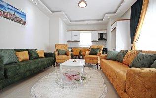 Современные апартаменты в Аланье в новом комплексе р.Махмутлар
