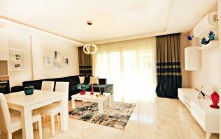 Недорогая квартира в Алании с дизайнерской мебелью, р.Махмутлар