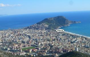 Kвартира от собственника в Алании на берегу Средиземного моря
