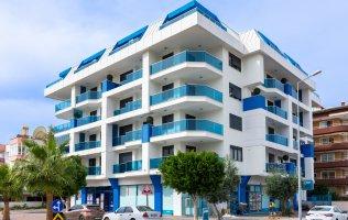 Новая квартира 1+1 в Алании в резиденции р.Оба
