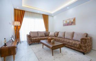 Новая квартира в Аланье, в современном жилом комплексе по выгодной цене р.Махмутлар