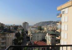Просторная квартира в центре Алании с видом на море и Аланийскую крепость - 13