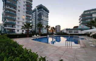 Новая квартира в Аланье в комплексе в Махмутларе