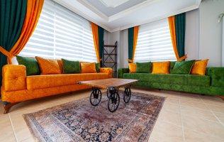 Меблированная квартира в Алании в современном комплексе район Тосмур