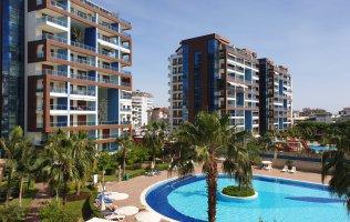 Апартаменты с мебелью в Алании в элитном комплексе район Джикджилли
