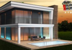 Инвестиционный проект вилл в Алании район Конаклы - 8