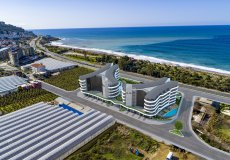 Новый проект в Алании на первой береговой линии район Каргыджак - 5