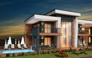 Инвестиционный проект вилл в Алании район Конаклы