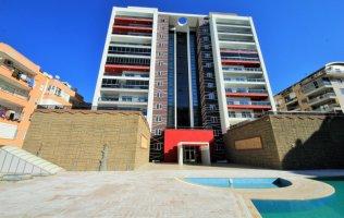 Просторная квартира в Алании в новом комплексе в Махмутларе
