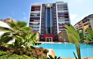 Меблированная квартира в Алании в новом комплексе в Махмутларе