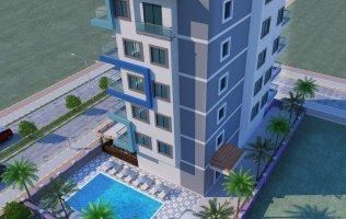 Новый проект в Алании район Махмутлар