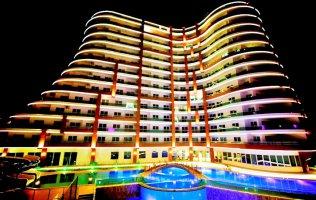 Роскошный комплекс с оригинальным дизайном в Алании, Махмутлар
