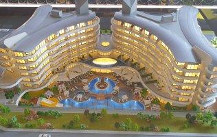 Новый проект в Алании на первой береговой линии район Каргыджак