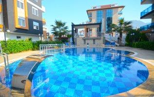 Меблированная квартира в Алании с видом на море