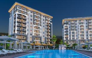 Новые квартиры в Алании район Авсаллар