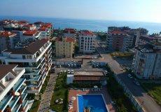 Меблированная квартира с видом на бассейн в Алании - 4