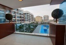 Меблированная квартира с видом на бассейн в Алании - 25