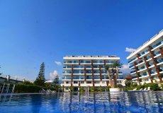 Меблированная квартира с видом на бассейн в Алании - 2