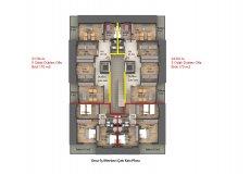 Квартиры в центре Алании + помещение под магазин - 10