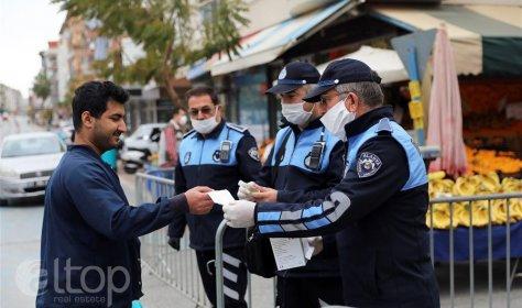 Мэр Аланьи решить надеть маски на всех иностранцев