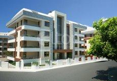 Квартира 1+1 в новом элитном жилом комплексе в районе Оба, Аланья - 6