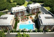 Квартира 1+1 в новом элитном жилом комплексе в районе Оба, Аланья - 8