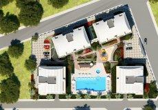 Квартира 1+1 в новом элитном жилом комплексе в районе Оба, Аланья - 9