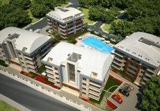 Квартира 1+1 в новом элитном жилом комплексе в районе Оба, Аланья - 10