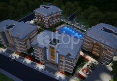 Квартира 1+1 в новом элитном жилом комплексе в районе Оба, Аланья - 14