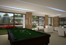 Квартира 1+1 в новом элитном жилом комплексе в районе Оба, Аланья - 15