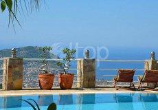 Вилла с великолепным видом на море и крепость Алании  - 3