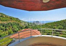 Вилла с великолепным видом на море и крепость Алании  - 8