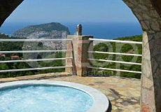 Вилла с великолепным видом на море и крепость Алании  - 12