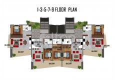 Квартиры в Махмутларе, резиденция класса Люкс - 19