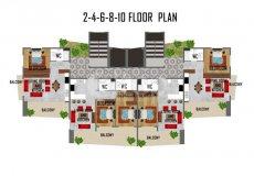 Квартиры в Махмутларе, резиденция класса Люкс - 20