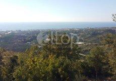 Земельный участок в Аланье с видом на море, Кестель - 3