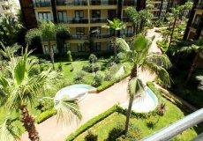 Большая квартира с 2 спальнями в аренду, комплекс на берегу моря, центр Аланьи - 3