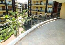 Большая квартира с 2 спальнями в аренду, комплекс на берегу моря, центр Аланьи - 4