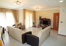Большая квартира с 2 спальнями в аренду, комплекс на берегу моря, центр Аланьи - 7